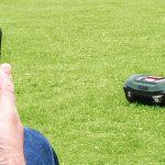 Robot cortacésped inteligente Bosch S+350
